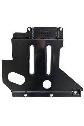 Underbody Guard Sump Steel Black