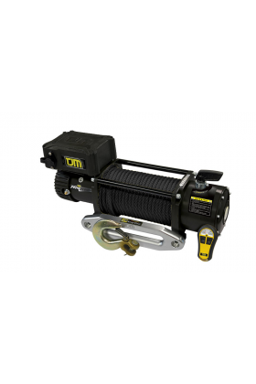 WINCH TORQ 12000LB BLK SYNTHETIC ROPE