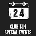 Receive invites to the latest Club TJM special member days, store open days & more.
